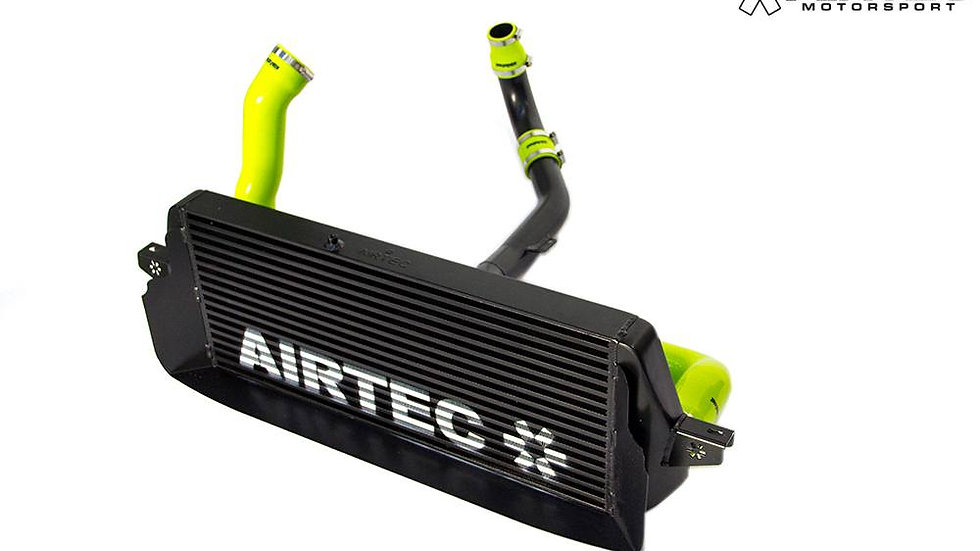 AIRTEC STAGE 2 INTERCOOLER UPGRADE AND 2.5-INCH BIG BOOST PIPES FOR MK2 FOCUS RS
