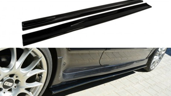 SIDE SKIRTS DIFFUSERS OPEL ASTRA H (FOR OPC / VXR)