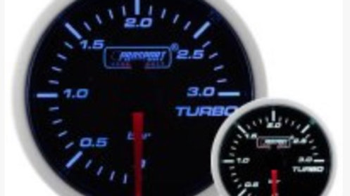 SMOKED SUPER BLUE/WHITE GAUGES BOOST/WATER SEE OPTIONS