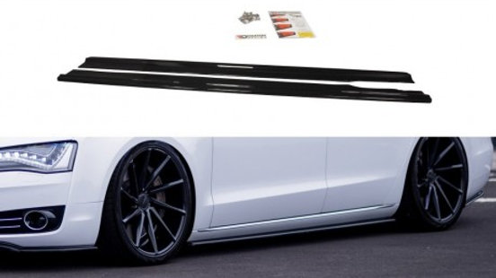 SIDE SKIRTS DIFFUSERS AUDI A8 D4 (2009- 2013)