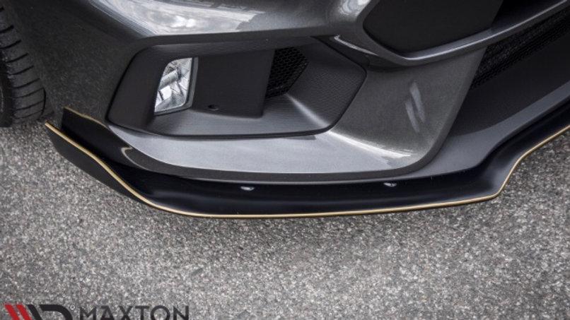 FRONT SPLITTER 'AERO' FORD FOCUS MK3 RS