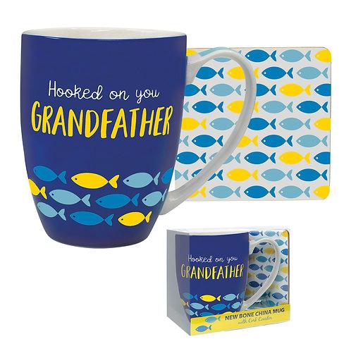 Grandfather Mug & Coaster Set