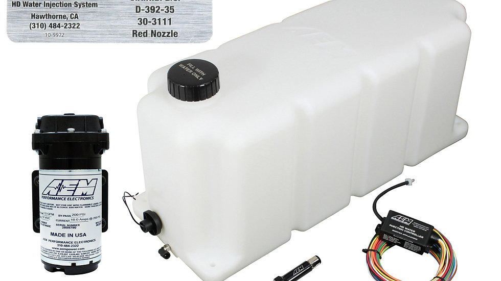 30-3111 - WATER INJECTION KIT - 50 STATE LEGAL FOR TURBO DIESEL ENGINES