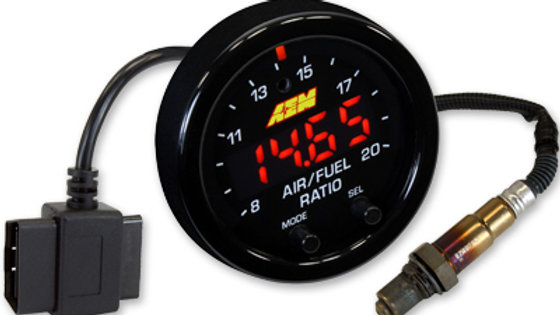 30-0333 - X-SERIES WIDEBAND UEGO AFR SENSOR CONTROLLER GAUGE WITH OBDII CONNECTI