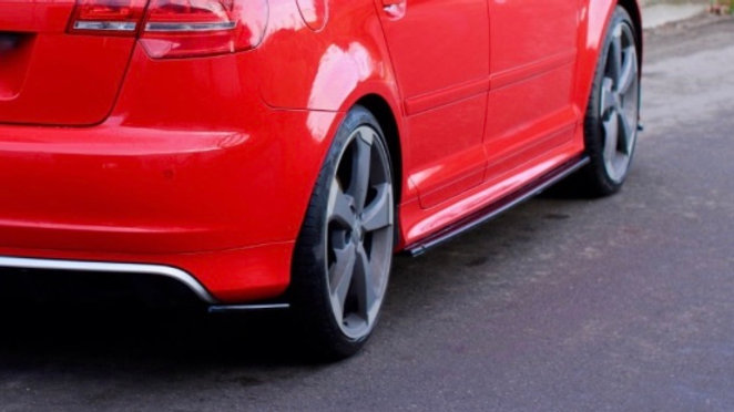 SIDE SKIRTS DIFFUSERS AUDI RS3 8P (2011-2012)