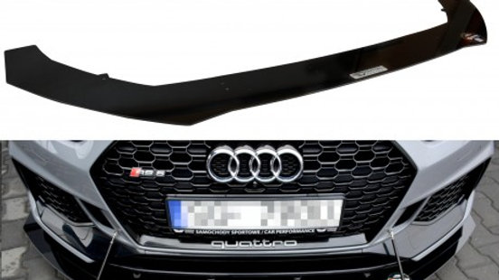 FRONT RACING SPLITTER V.1 AUDI RS5 COUPE MK2 (F5) (2017-UP)