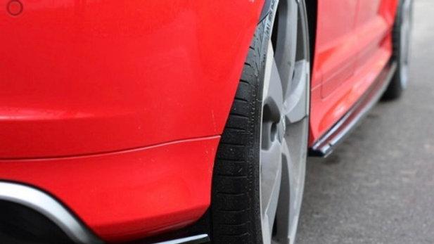 REAR SIDE SPLITTERS AUDI RS3 8P (2011-2012)