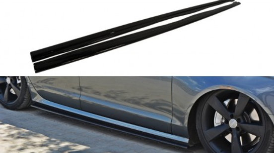 SIDE SKIRTS DIFFUSERS AUDI A6 C7 S-LINE (2011-2014)
