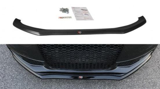 FRONT SPLITTER V.1 AUDI S4 B8 FACELIFT (2012-UP)