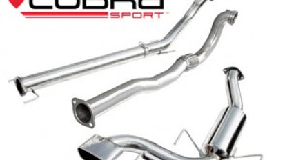 ASTRA H VXR Turbo Back Exhaust (with De-Cat / Non-Resonated)