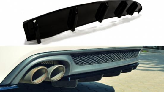 CENTRAL REAR SPLITTER AUDI A6 C7 S-LINE AVANT (2011-2014)