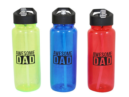Awesome Dad - Sports Water Bottle