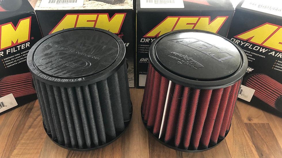 80mm AEM filter - Red -Grey