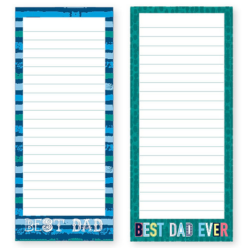 Dad's Job List Pad With Magnet