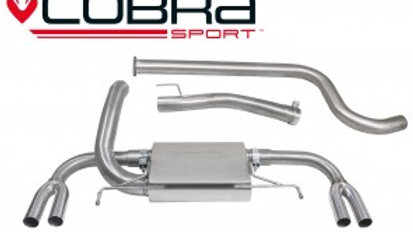 ASTRA J VXR Cat Back Exhaust (Non-Resonated)