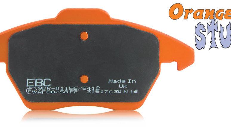 FOCUS RS MK3 FRONT EBC Orangestuff Brake Pads DP92274