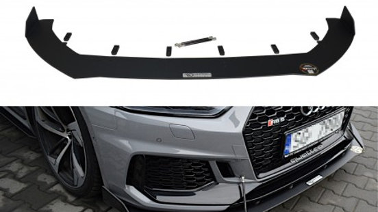 FRONT RACING SPLITTER V.2 AUDI RS5 COUPE MK2 (F5) (2017-UP)