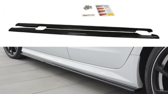 SIDE SKIRTS DIFFUSERS AUDI A6 C7 S-LINE / S6 C7 FACELIFT (2014-2018)