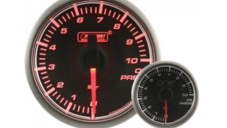 45mm Stepper Motor Clear/Amber Oil Pressure Gauge (BAR)