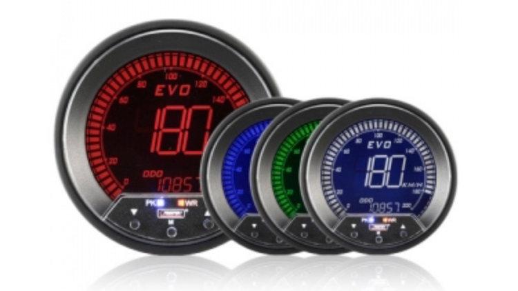 85mm Evo LCD Speedometer KMH / MPH ***85MM