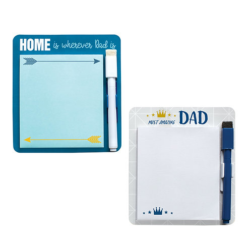 Magnetic Notepad With Erasable Pen