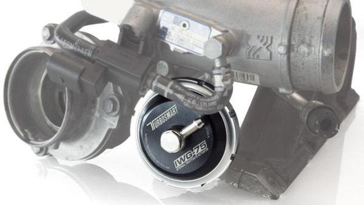 Turbosmart IWG75 VW Golf R K04 Internal Wastegate Actuator Black