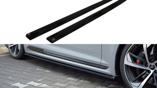 SIDE SKIRTS SPLITTERS AUDI RS5 COUPE MK2 (F5) (2017-UP)
