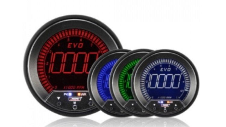 85mm Evo LCD Rev Counter (0-10,000Rpm) ***85MM***