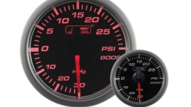 45mm Stepper Motor Clear/Amber Turbo Boost Gauge (PSI)