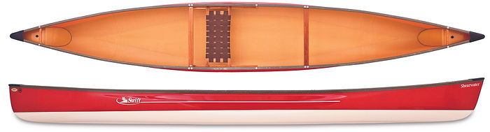 The Swift Shearwater Solo Canoe