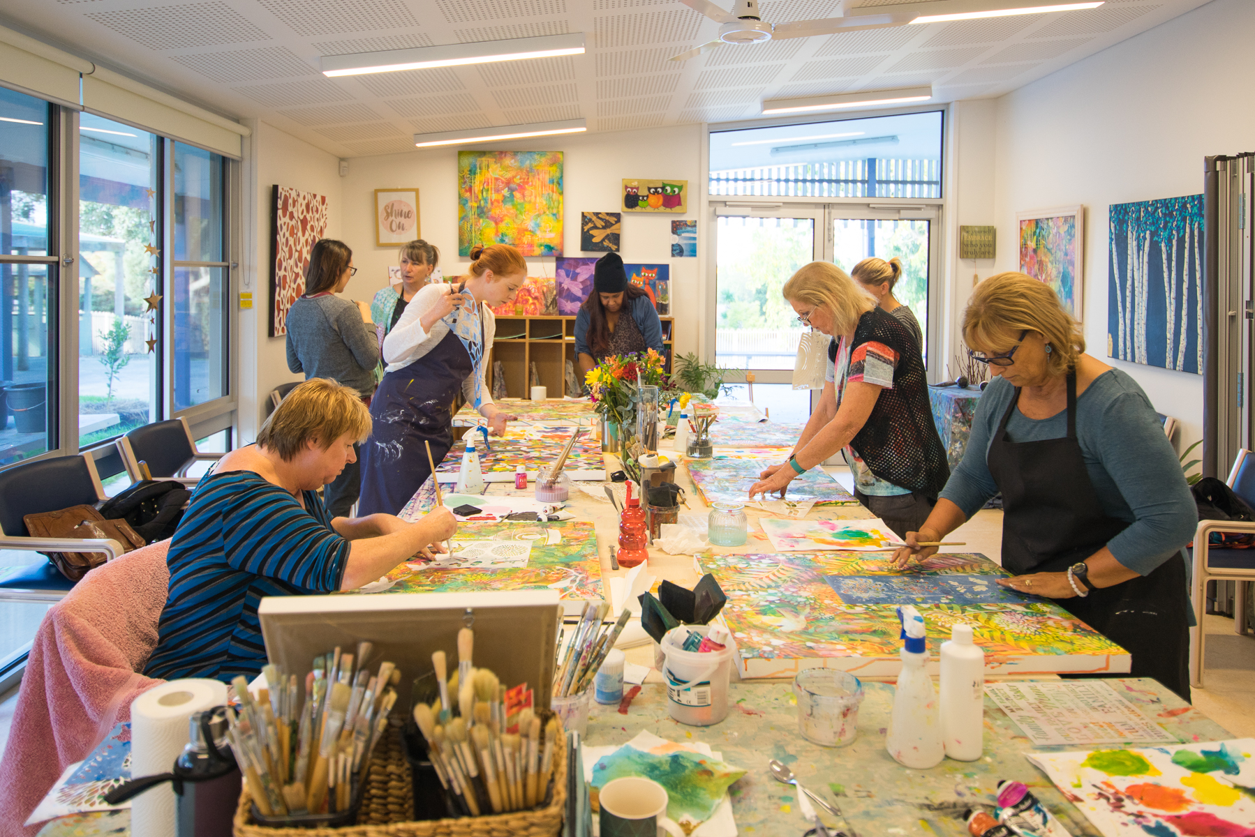 Paint'n'Play Art Workshop