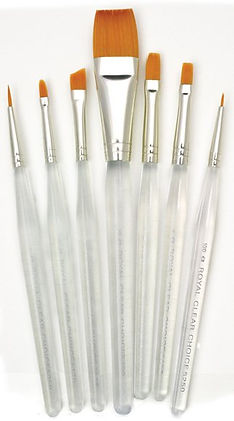 Synthetic Brushes for Art Classes