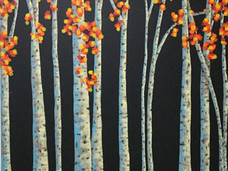 Beautiful Birch Trees (SOLD)