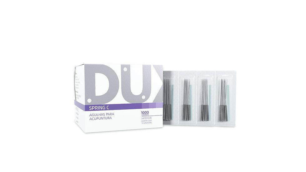 Agulha Sistêmica (Spring C) - 1000 unidades | Dux Acupuncture