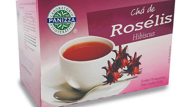 Chá Roselis (15 saquinhos) - 22g | Panizza