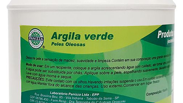 Argila Verde - 1kg | Panizza