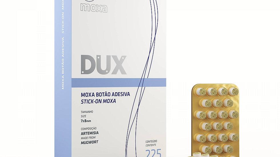 Moxa Botão Adesiva - 225 unidades   Dux Acupuncture