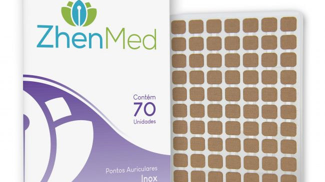 Ponto Inox para Auriculoterapia - 70unids | ZhenMed