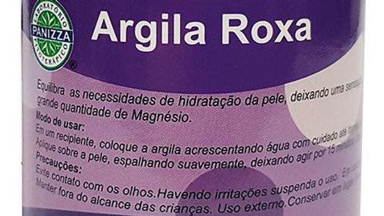 Argila Roxa - 200g | Panizza