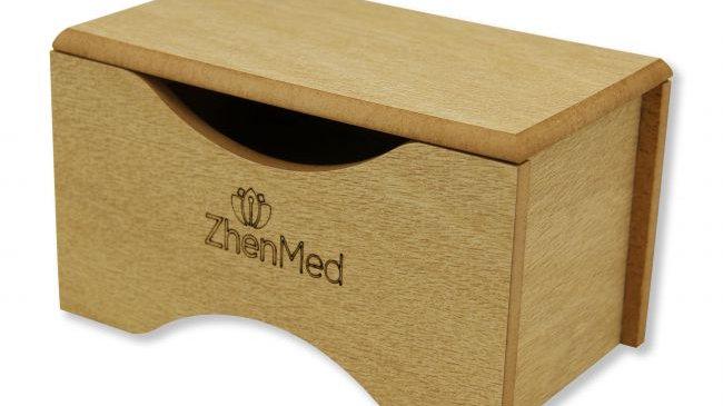 Caixa de Madeira Para Moxa | ZhenMed