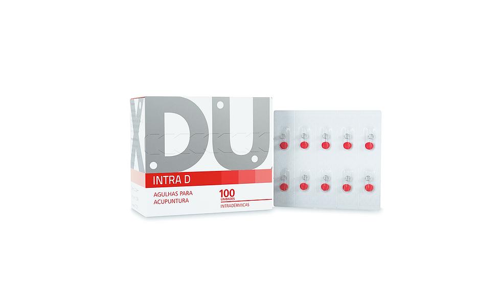 Agulhas Intradérmicas (Intra D)- 100 unidades | Dux Acupuncture