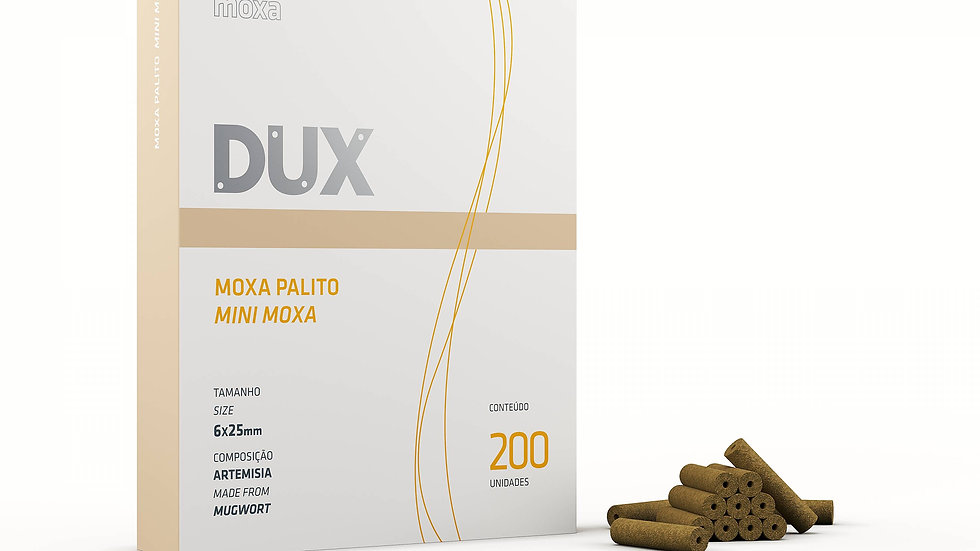 Moxa Palito - 200 unidades | Dux Acupuncture
