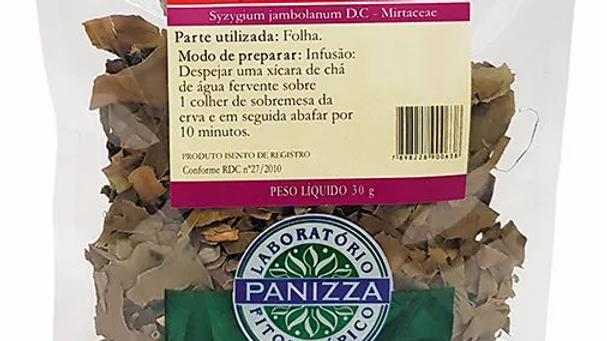 Jambolão em Folha - 30g | Panizza