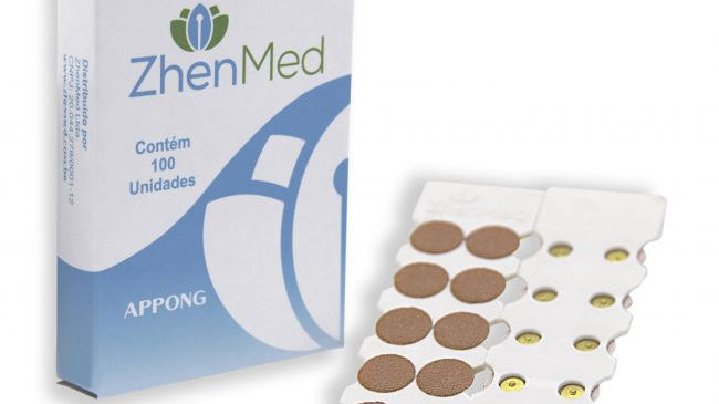 Appong Ouro - Adesivo com 100 unids | ZhenMed