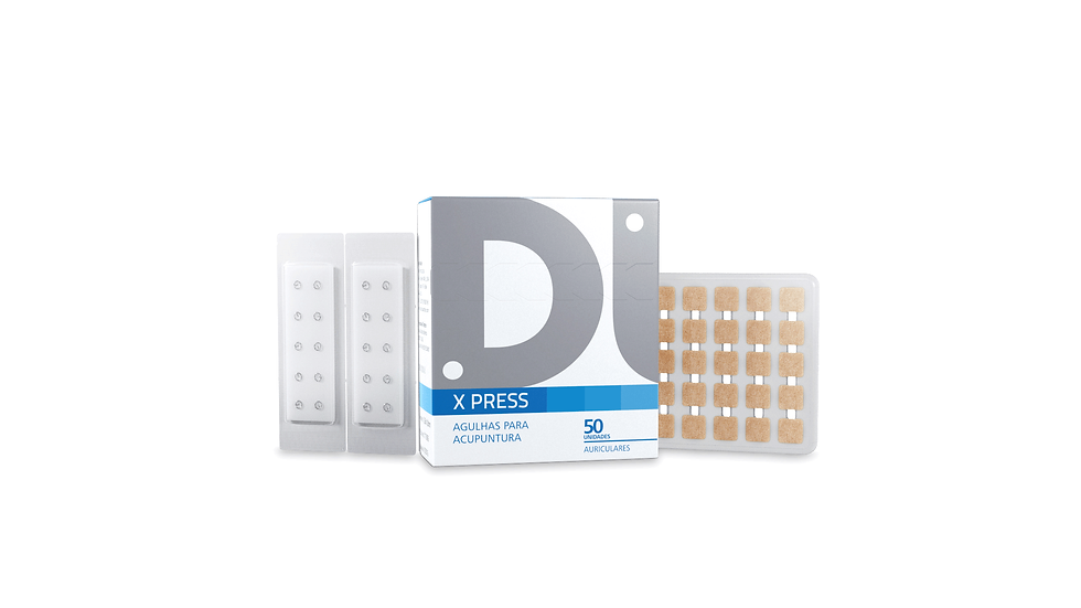 Agulhas Auriculares (X Press)- 50 unidades | Dux Acupuncture