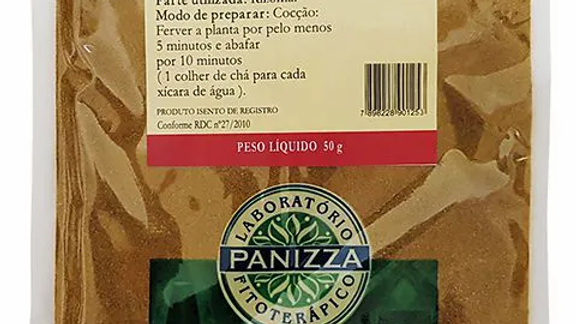 Ruibarbo em Pó - 50g | Panizza