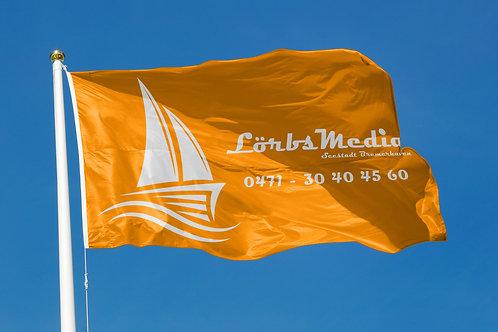 Hissflaggen für Masten ohne Ausleger