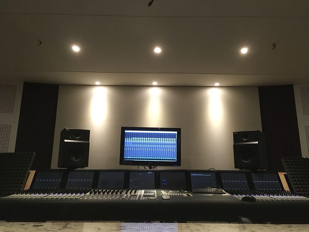 Nuevo Estudio Sala de Audio