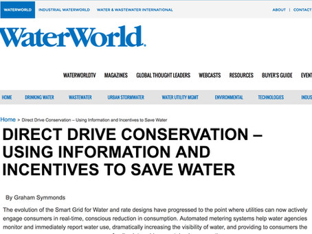 Direct Drive Conservation – Using Information and Incentives to Save Water - Water World