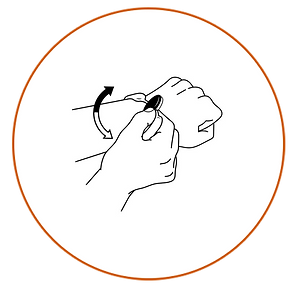 ORANGE CIRCLE FLIP DISC BLACK WHITE.png